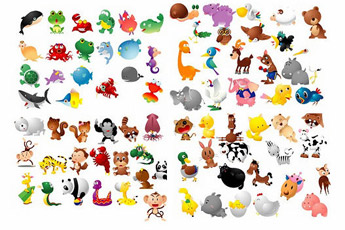100-Animal-Mascots-Vector-Pack-Compilation