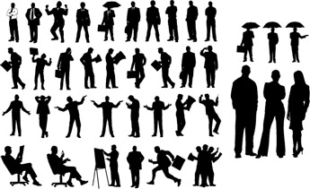 39-People-Silhouettes-Vector-Pack-Compilation
