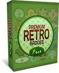PremiumRetroBadgesPackCover